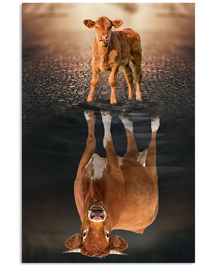 Cattle Believe In Yourself 16x24 Poster