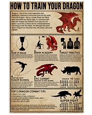 How To Train Your Dragon 11x17 Poster front