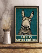 Hello Sweet Cheeks Donkey  16x24 Poster lifestyle-poster-3