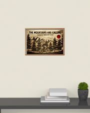 The Mountains Are Calling Cycling 24x16 Poster poster-landscape-24x16-lifestyle-09
