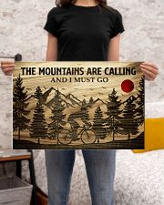 The Mountains Are Calling Cycling 24x16 Poster poster-landscape-24x16-lifestyle-20