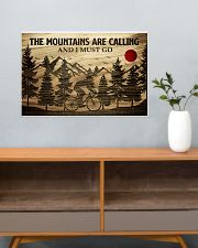 The Mountains Are Calling Cycling 24x16 Poster poster-landscape-24x16-lifestyle-25