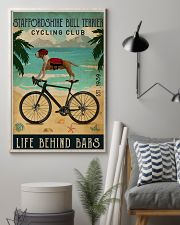 Cycling Club Staffordshire Bull Terrier 11x17 Poster lifestyle-poster-1