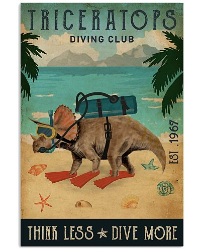 Vintage Diving Club Triceratops