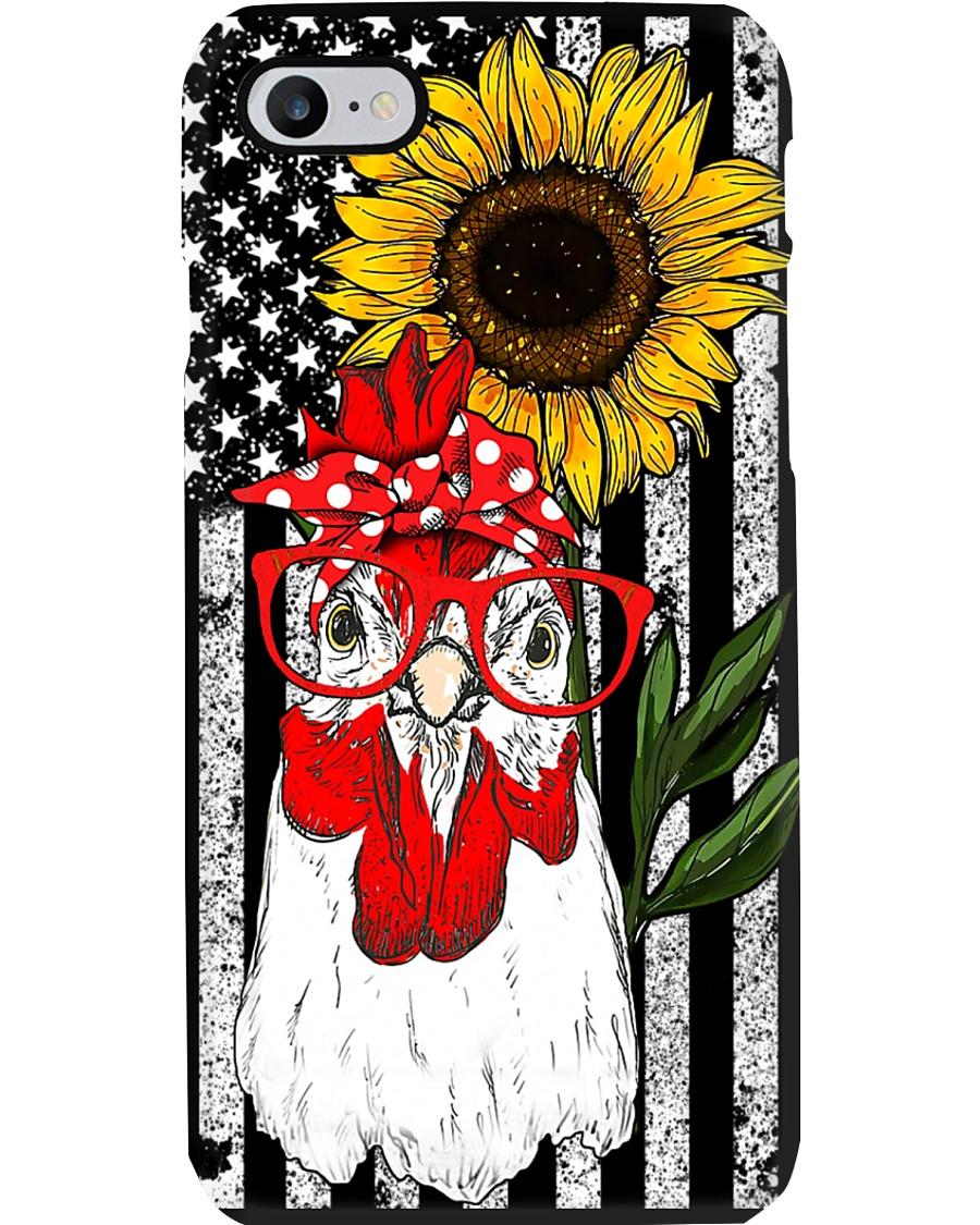 Sunflower Flag Chicken Phone Case