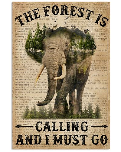 Dictionary The Forest Is Calling Elephant
