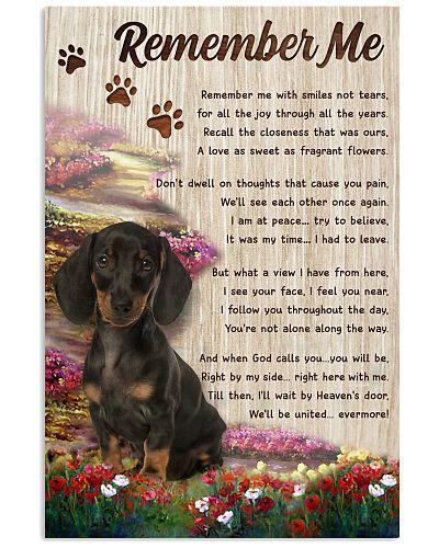 Remember Me Dachshund