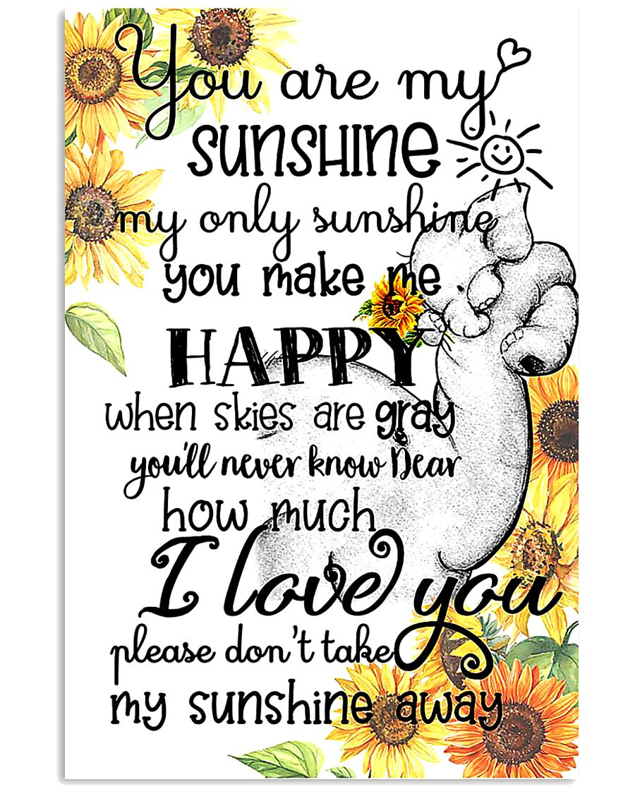 You Are My Sunshine My Only Sunshine Elephant Mom 11x17 Poster