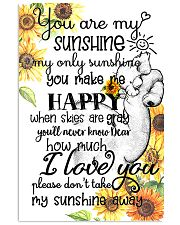 You Are My Sunshine My Only Sunshine Elephant Mom 11x17 Poster front