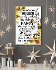 You Are My Sunshine My Only Sunshine Elephant Mom 11x17 Poster lifestyle-holiday-poster-1