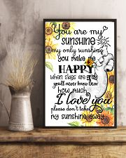 You Are My Sunshine My Only Sunshine Elephant Mom 11x17 Poster lifestyle-poster-3