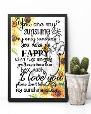 You Are My Sunshine My Only Sunshine Elephant Mom 11x17 Poster lifestyle-poster-8