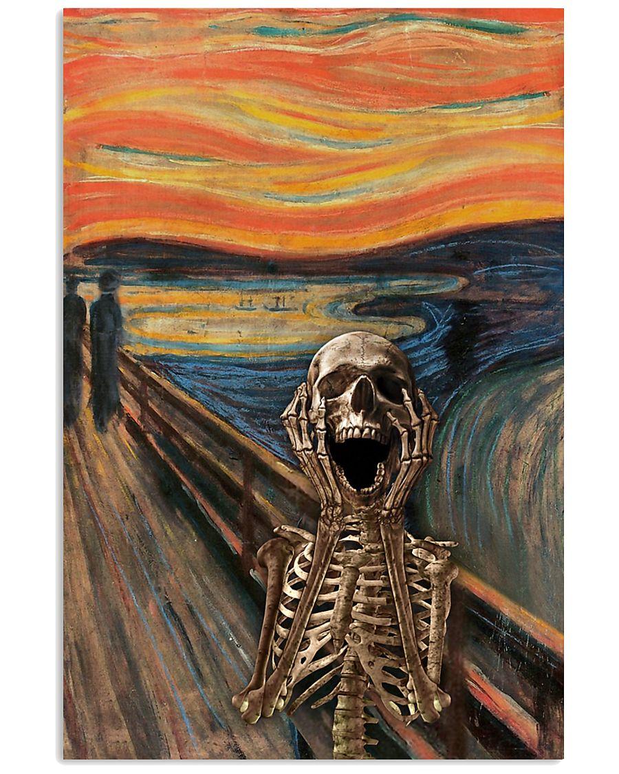 The Scream Skeleton 16x24 Poster
