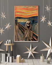 The Scream Skeleton 16x24 Poster lifestyle-holiday-poster-1