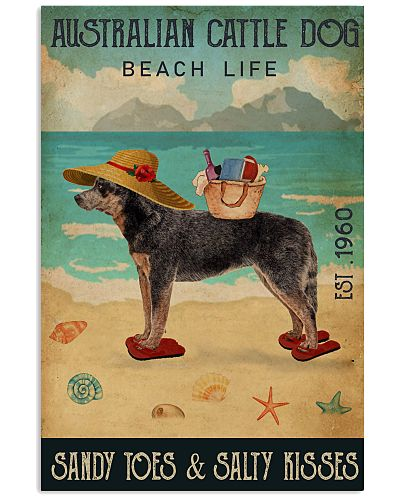 Beach Life Sandy Toes Australian Cattle Dog