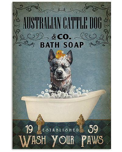 Vintage Bath Soap Australian Cattle Dog