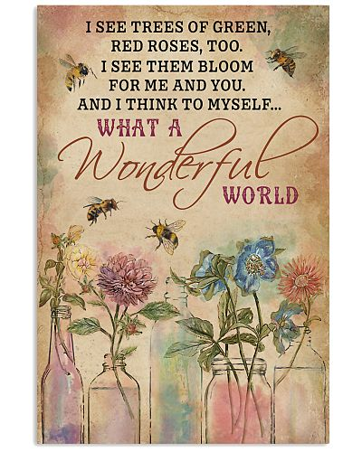 Bee What A Wonderful World