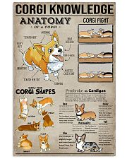 Corgi Knowledge Dogs 11x17 Poster front