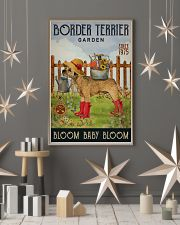 Gardening Bloom Baby Border Terrier 16x24 Poster lifestyle-holiday-poster-1