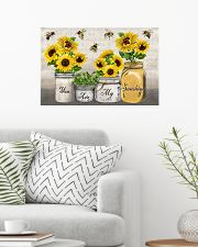 You Are My SunShine Music Sheet Bee 24x16 Poster poster-landscape-24x16-lifestyle-01