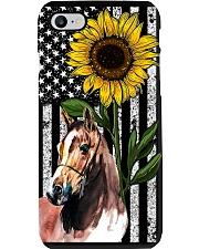 Sunflower Flag Horse Phone Case i-phone-7-case