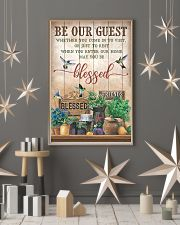 Pallet Hummingbird Be Our Guest 11x17 Poster lifestyle-holiday-poster-1
