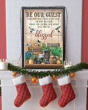 Pallet Hummingbird Be Our Guest 11x17 Poster lifestyle-holiday-poster-4