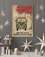 Dictionary And She Lived Happily Skeleton 11x17 Poster lifestyle-holiday-poster-1