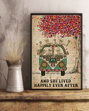 Dictionary And She Lived Happily Skeleton 11x17 Poster lifestyle-poster-3