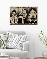 It's Not A Phase Camera Girl 24x16 Poster poster-landscape-24x16-lifestyle-01
