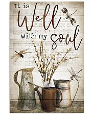 Dragonfly It Is Well With My Soul 16x24 Poster front