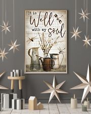Dragonfly It Is Well With My Soul 16x24 Poster lifestyle-holiday-poster-1