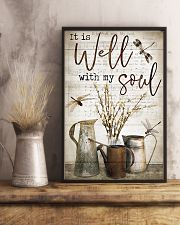Dragonfly It Is Well With My Soul 16x24 Poster lifestyle-poster-3