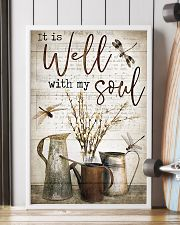 Dragonfly It Is Well With My Soul 16x24 Poster lifestyle-poster-4