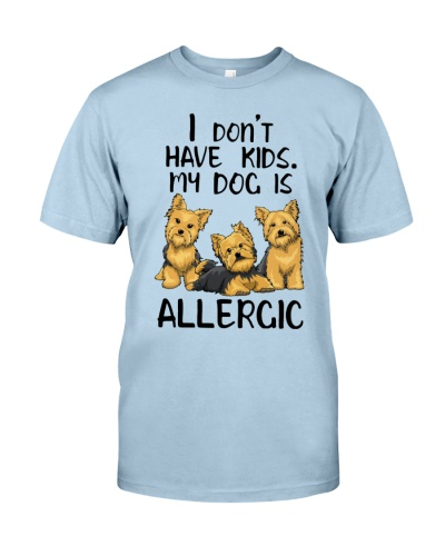 My Yorkshire Terrier Is Allergic