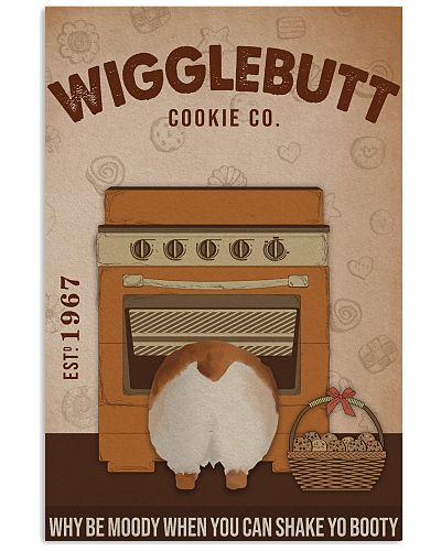 Wigglebutt Cookie Shake Yo Booty Corgi