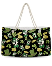 Pit Bull Clover And Coin St Patrick's Day Weekender Tote tile
