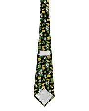 Pit Bull Clover And Coin St Patrick's Day Tie back