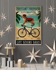 Cycling Club Shetland Sheepdog 11x17 Poster lifestyle-holiday-poster-1