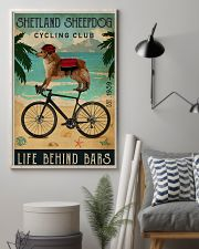 Cycling Club Shetland Sheepdog 11x17 Poster lifestyle-poster-1