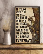 Be Strong When You Are Weak Dragon 11x17 Poster lifestyle-poster-3