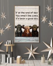 White Pallet You Smell Like Angus Cattle 11x17 Poster lifestyle-holiday-poster-1