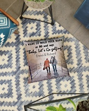Personalized Golf I Want To Hold Your Hands Square Pillowcase aos-pillow-square-front-lifestyle-01