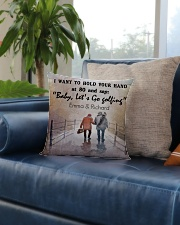 Personalized Golf I Want To Hold Your Hands Square Pillowcase aos-pillow-square-front-lifestyle-02