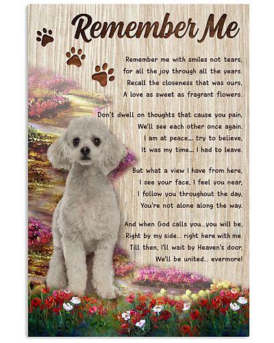 Remember Me Poodle