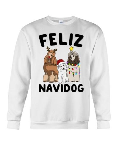 Feliz Navidog Poodle