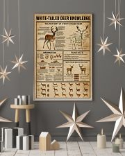 White-Tailed Deer Knowledge 16x24 Poster lifestyle-holiday-poster-1