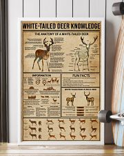 White-Tailed Deer Knowledge 16x24 Poster lifestyle-poster-4