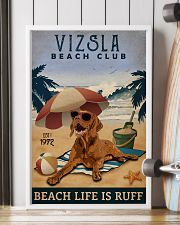 Vintage Beach Club Is Vizsla 11x17 Poster lifestyle-poster-4