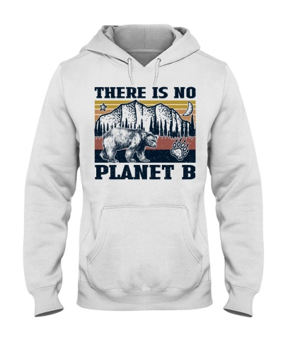 Retro Navy Bear No Planet B